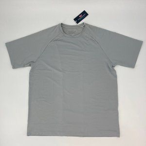 Vineyard Vines Performance Gray Tennis T-Shirt L